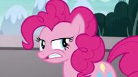 Pinkie Pie muttering under her breath S5E19