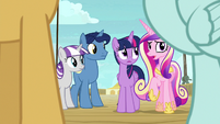 "Princess Cadance ""the other side of the deck"" S7E22"