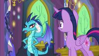 Princess Ember -I feel like I'm being avoided- S7E15