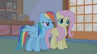 """Rainbow Dash """"she comes into Ponyville"""" S1E09"""