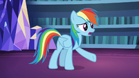 "Rainbow Dash ""she loves making pies"" S7E23"