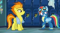 Rainbow Dash very anxious S6E7