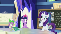 """Rarity """"because my plan is"""" S9E4"""