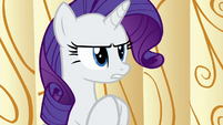 Rarity --now that we've solved-- S6E10
