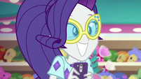 Rarity excited to go shopping EGSB