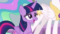 "Twilight ""saving Equestria is nice"" S8E26"
