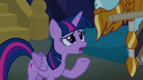 Twilight -if you're a statue, that's all lost- S8E21