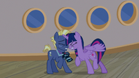 Twilight Sparkle bumps into Star Tracker again S7E22