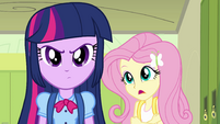 """Twilight and Fluttershy """"you've heard of her?"""" EG"""
