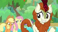 Applejack and Autumn Blaze dejected S8E23