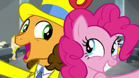 Cheese and Pinkie Pie back-to-back S9E14