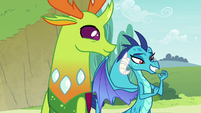 Princess Ember confident in her words S7E15