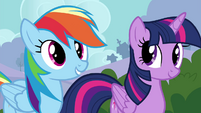 """Rainbow Dash """"never done it before"""" S4E16"""