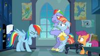 Rainbow Dash catching her breath S7E7