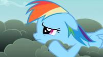 Rainbow Dash downcast S2E8