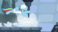 Rainbow flies over the clouds S5E5