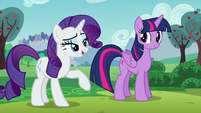 """Rarity putting emphasis on the word """"artistes"""" S5E24"""