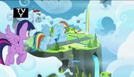 S06E24 Księżniczka Twilight i Rainbow w obozie lotników