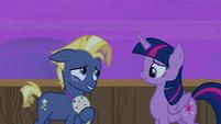 Star Tracker glad he met Twilight Sparkle S7E22