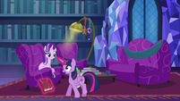 "Twilight ""thanks for letting me read you the story"" S06E08"