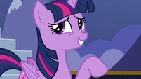 Twilight Sparkle being modest S6E25