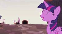 Twilight Sparkle optimistic S5E25