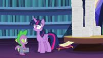 Twilight Sparkle realizing something S7E22