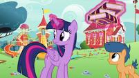 Twilight hears Toola Roola and Coconut Cream S7E14