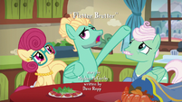 """Zephyr Breeze """"ponies hold in their manes"""" S6E11"""