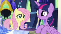 """Fluttershy """"so lucky I'm being sent with you"""" S5E23"""