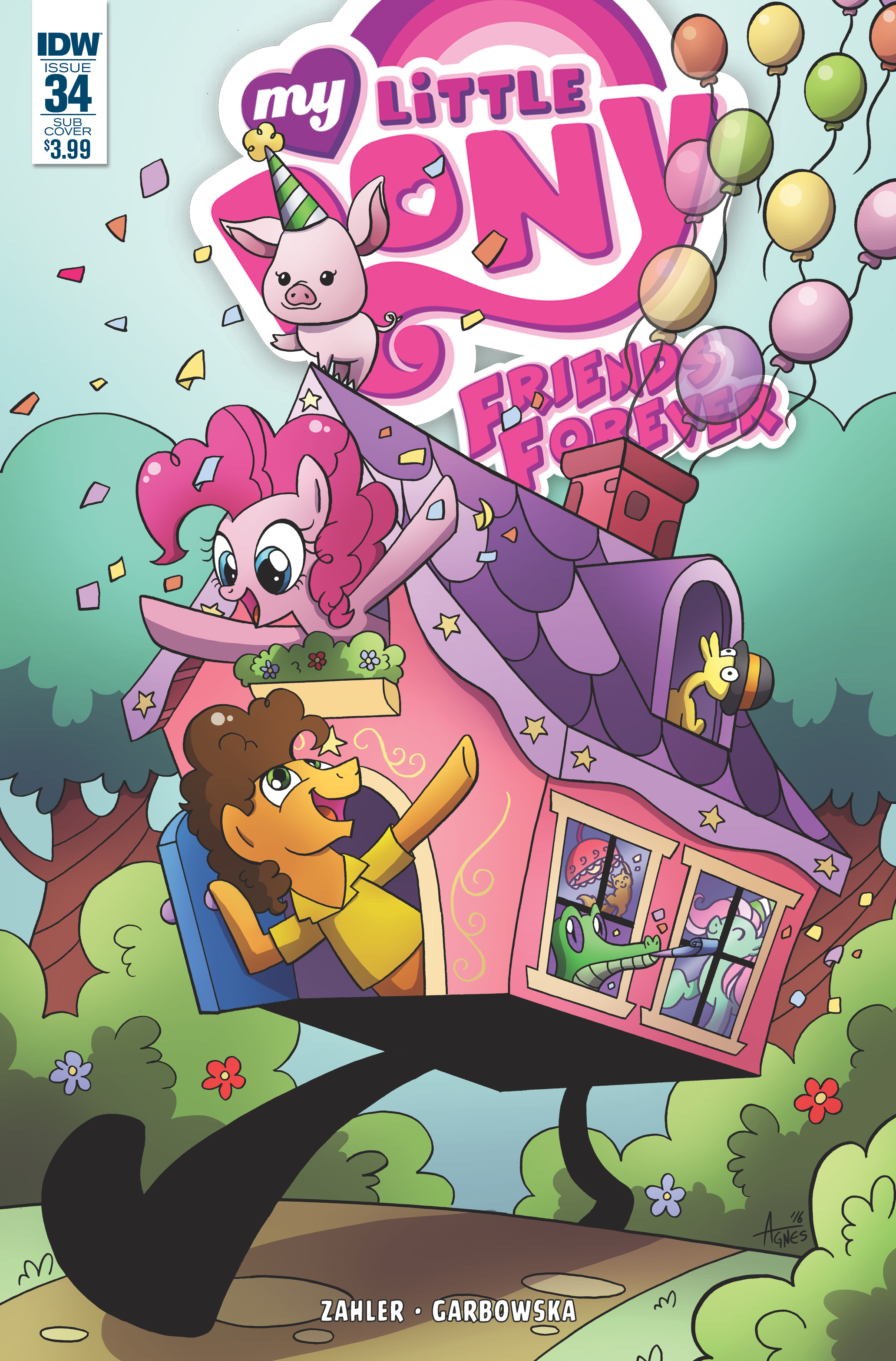 Friends Forever Issue 34