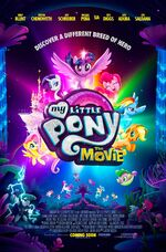 MLP The Movie international poster by Lionsgate
