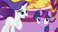 """Rarity """"thank you, Spikey-Wikey"""" MLPS1"""
