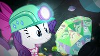 Rarity finds an emerald S8E17