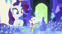 Rarity getting over-excited S6E12