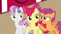 """Scootaloo """"that sure is a lot of apples!"""" S7E8"""