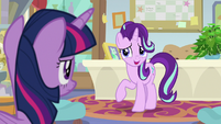 "Starlight ""if this is about leaving early"" S9E20"