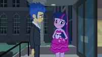 Twilight and Flash blushing EG