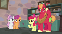 Apple Bloom introduces the other Crusaders S7E8