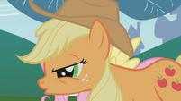 Applejack with Fluttershy S01E04