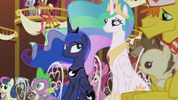 Celestia and Luna look at each other S5E9