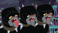 Cerberus looking excited S8E26