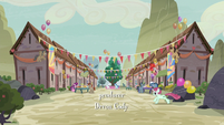 Our Town decorated for the Sunset Festival S6E25
