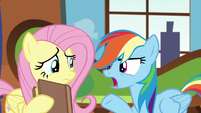 """Rainbow """"then your book must be wrong!"""" S5E5"""