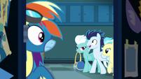 Rainbow hears the other Wonderbolts S8E5