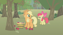 S01E12 Applejack rozmawia z Apple Bloom