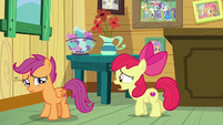 "Apple Bloom ""ride their scooter ahead of us"" S9E12"