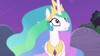 """Celestia """"she'd have to talk to the other fillies"""" S7E1"""