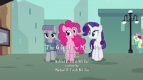 """Pinkie """"since Maud's getting her rocktorate nearby"""" S6E3"""