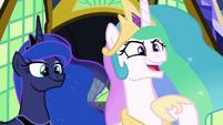 """Princess Celestia """"friendship problem?"""" S9E13"""